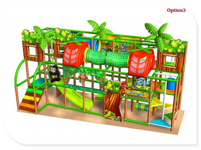 Kids Small Space Indoor Playground Games