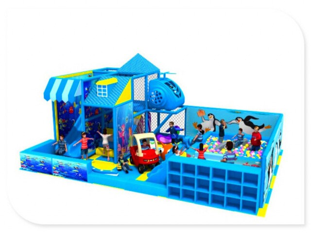 Children Indoor Fun Play Center for Small Space