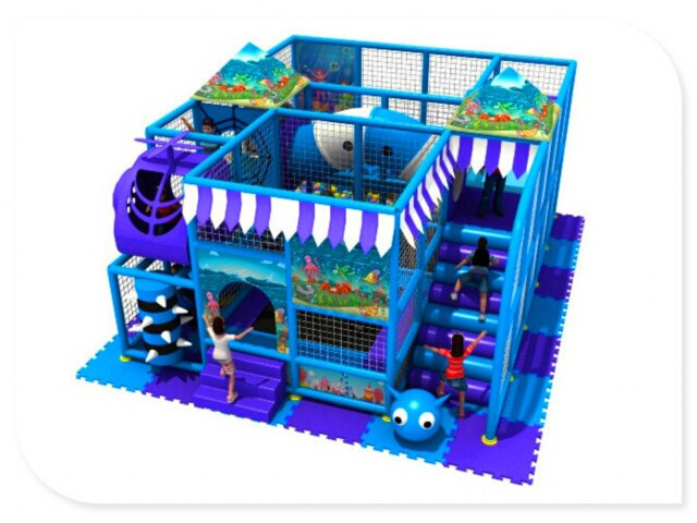 Cheap and Small Indoor Play Station for Children