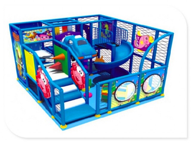 Small Space Indoor Play Structure for Shopping Mall Store
