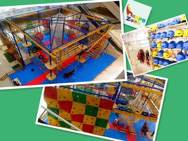 Low Ropes & High Ropes Courses Climbing Wall