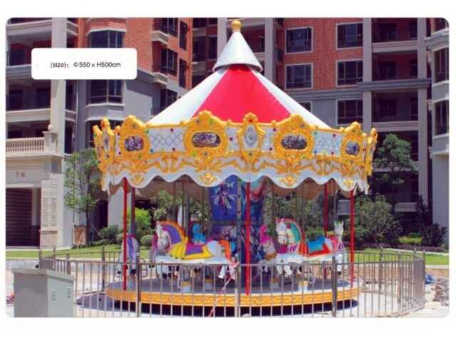 Merry Go Round Horse Ride 12 Seats