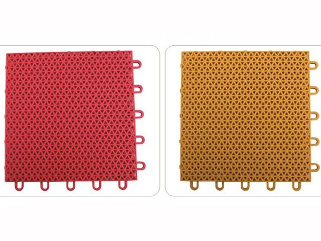 Safety Surfacing Modular Interlocking Plastic Floor Tile