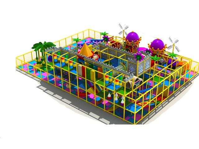 Indoor Soft Play Area 151 To 350sqm Multi Level Indoor