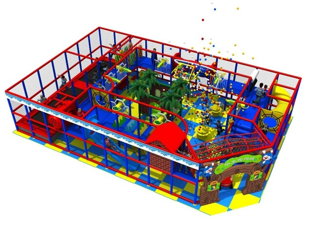 Kids Ball Cannon Gun Play Arena