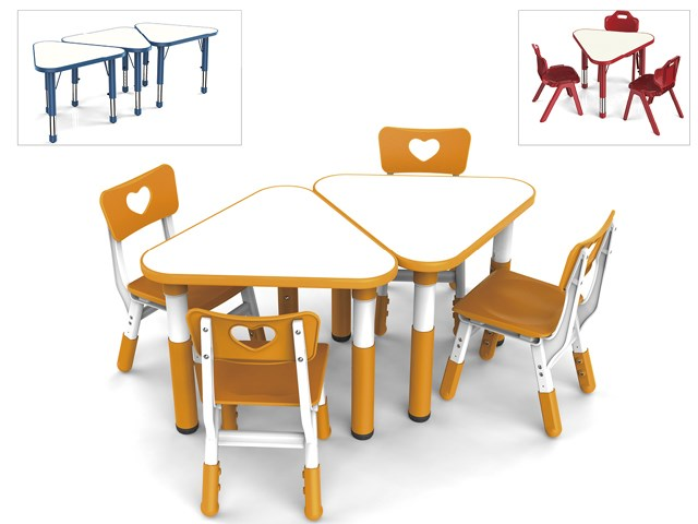 Concatenative Spliced Type Angle Table for Children