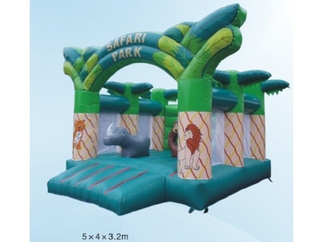 Hot Selling Safari Park Inflatable Jumping House