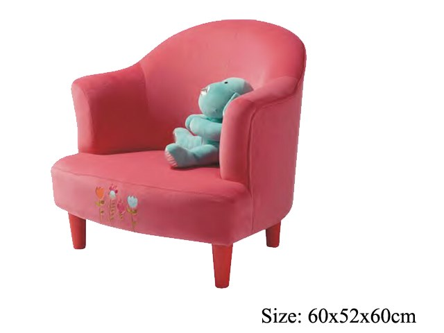 Children Pink Lovely Couch