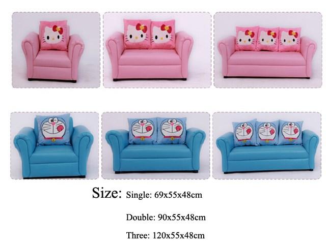 Preschool Furniture Kids Sofa Amp Stool Hello Kitty Kids