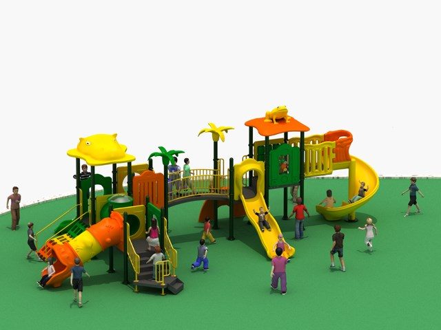Outdoor Amusement Facility Animal Funny Playground