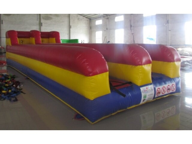 Inflatable Bungee Run Course Sporting Games