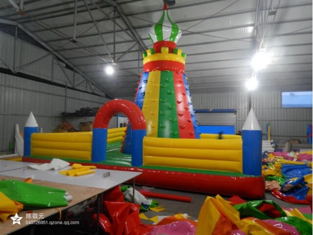 Mountain Inflatable Climbing Wall