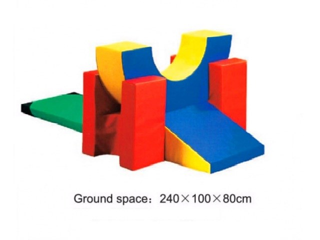 Soft Foam Play Block & Slide Sets