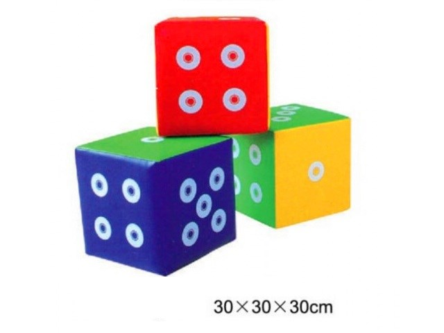 Soft Foam Dice, Kids Stools