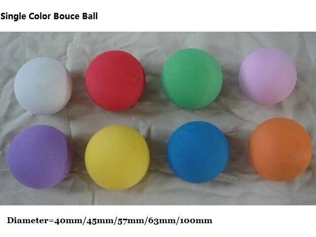 Foam Bouncy Ball for Ball Cannon & Carbine