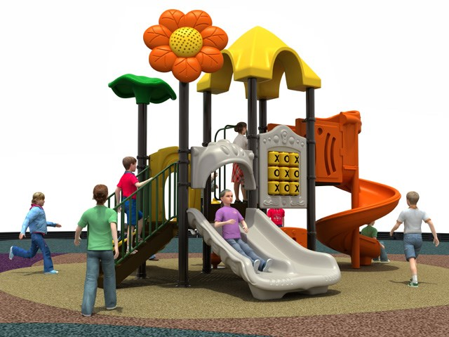 Classical Playset Slide Open air Playground Fun set Kiddle
