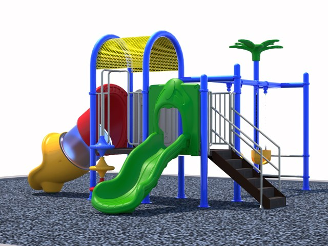 Classical Color and Style Outdoor Slide Set