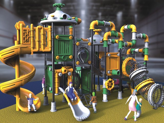 Residential Pipeline New Outdoor Play Games for Kids
