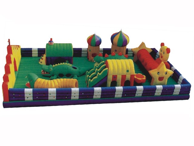 Air Pillow Outdoor Park Zoo for Kids