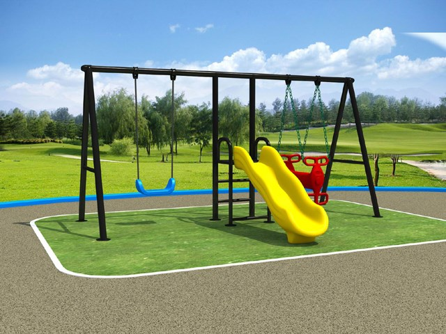 Swing Slide Combined Metal Frame