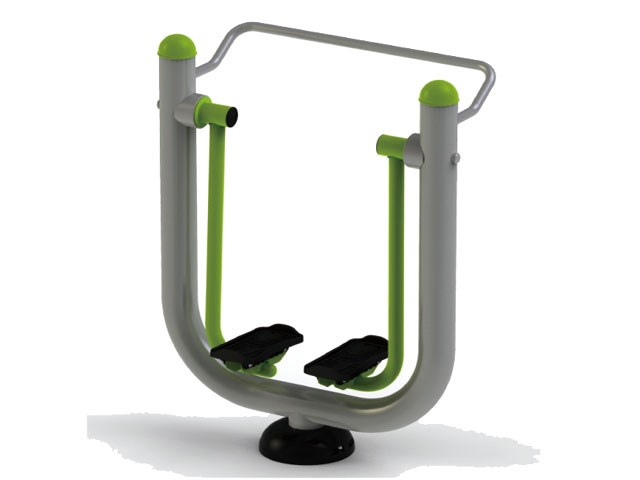 Single Walking Machine for Outdoor Exercise Facility