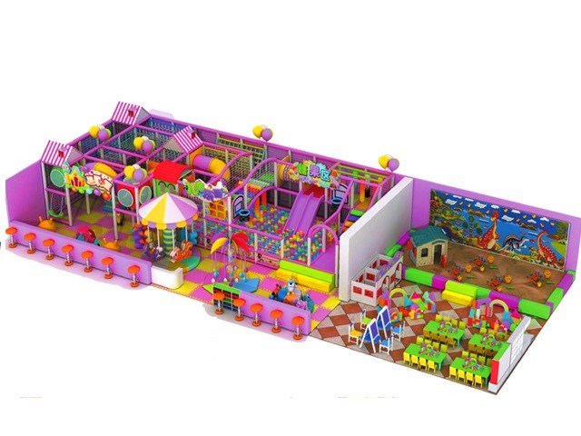 Pink Candy Topic Commercial Indoor Play & Education Center