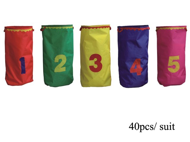 Numbered Potato Sacks