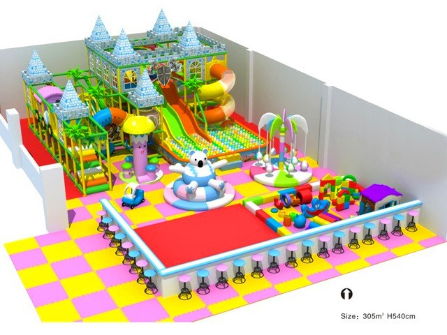 Indoor Soft Play Area - 151 to 350sqm - Kids Castle-themed Indoor ...