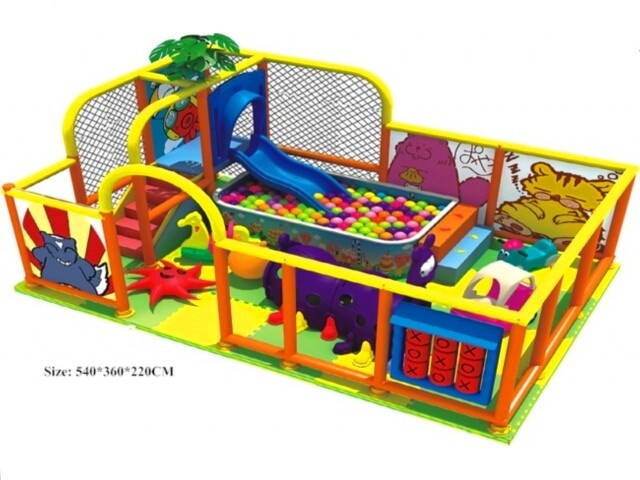 Kids Indoor Soft Play Center & Play Corner