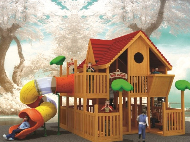 Outdoor Play Structures Wooden Playgrounds Wooden