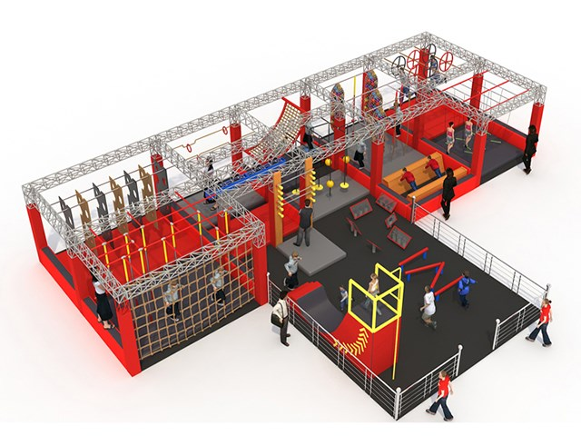 Cheap Price Wholesale Ninja Warrior Course