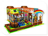 Indoor Play Structure for Children's Entertainment Center
