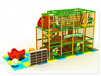 Three-Story Kids Indoor Playground for Restaurant