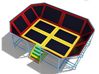 Indoor Trampoline Center for Kids