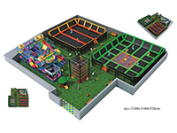 Huge Trampoline Park & Kids Indoor Soft Playground