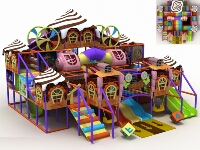 Ice Cream Clubhouse Themed Indoor Soft Play Modular