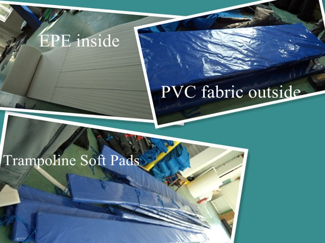 Quality Trampoline Soft Padding in Standard Thickness