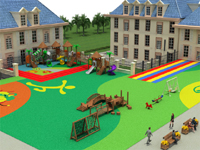 Kindergarten Playgrounds Integrated Design