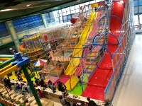 Multi Level Soft Playground Structure for Shopping Center