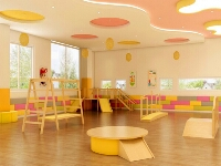 Indoor Wooden Play Sets for Early Childhood Educational Center