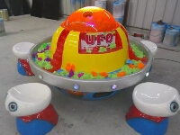 UFO Space Sand DIY Play Table for Art Room