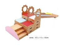 Kids Playroom Wooden Play Unit