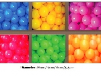 CE certified Sea Balls, Air Balls, Toy Balls for Ball Pool