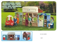 Little Tikes Same Design Play House Sets
