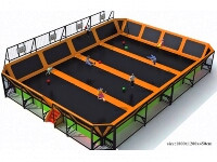 Kids Jumping Trampoline Bed
