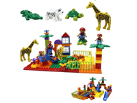 Creative Zoo Toys Animals building blocks plastic toys