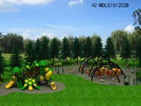 400sqm Outdoor Playground Park for Hotels Resorts and Holiday Inns