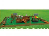 Kids Middle Scale Wooden Play Park and Dream Playland Solutions
