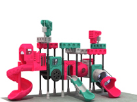 Big Simliar Building Block Outdoor Playground Faclity